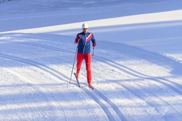 sportlich fit durch Langlauf