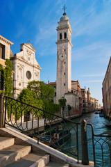 San Giorgio dei Greci with its campanile