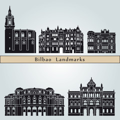 Bilbao landmarks and monuments