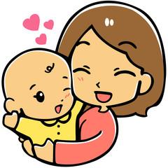 赤ちゃんloveママ