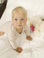 Männliches Baby (12-24 Monate), Portrait