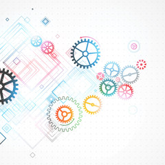 Abstract background, technology theme for your business.