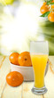 juice and tangerines