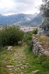 Trekking path Soller, Mallorca, Balearic islands, Spain