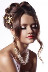 bridal fashion woman