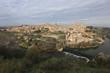 Top view of Toledo city