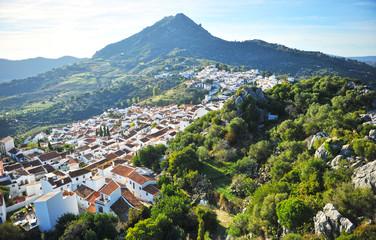 Panoramic view, Gaucin, Malaga province, Spain