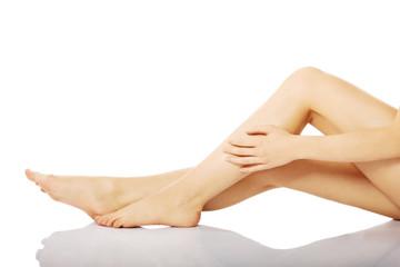 Female fit legs