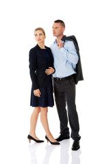 Couple wondering about their corporation