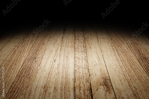 Tuinposter Hout Plank wood floor texture background for display your product,Moc