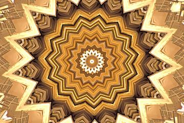 Abstract Kaleidoscope Texture background