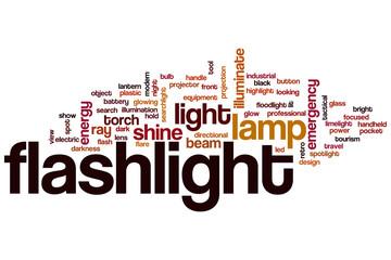 Flashlight word cloud