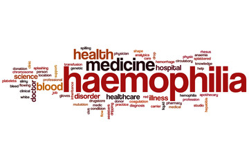 Haemophilia word cloud