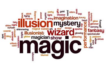 Magic word cloud