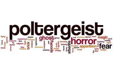 Poltergeist word cloud