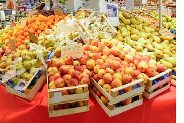 Banco della frutta
