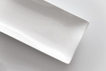 Weiße Schale