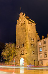 Churertor tower in Feldkirch - Austria