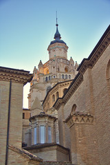 Cathedral of Santa Maria de la Huerta, Tarazona, Aragon, Spain