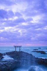 Shrine Gate at daybreak