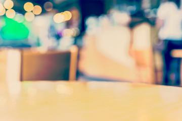 Blur coffee shop