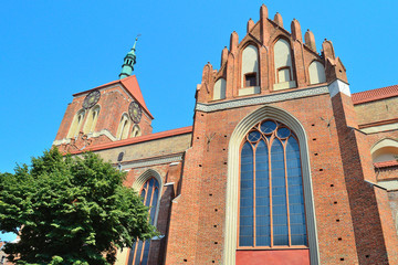 Gdansk, Polish Republic. Church of St. John