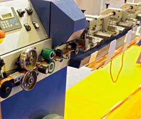 Machine for the manufacture of metal shutters