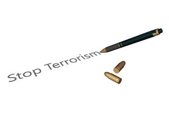 Terrorisme bestrijden met het woord