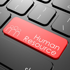 Human resource keyboard