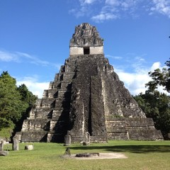 Structure number one at Tikal