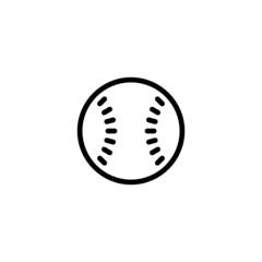 Baseball Trendy Thin Line Icon