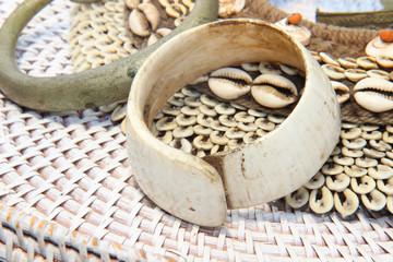 Hand made wood shell jewelry