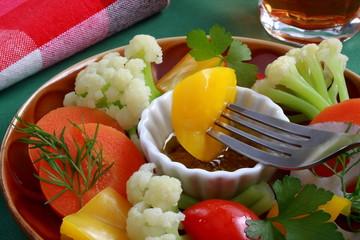 サラダ 温野菜 バーニャカウダ