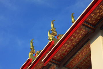 Temple in Thailand (on top)