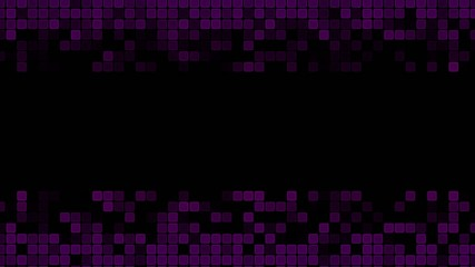 Purple Animated Squares Background