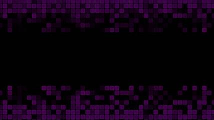 Purple Animated Squares Background