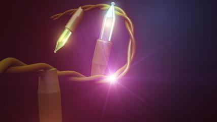 свечи рождества