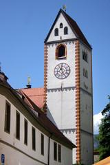 Kloster Sankt Mang, Füssen, Kirche Sankt Mang