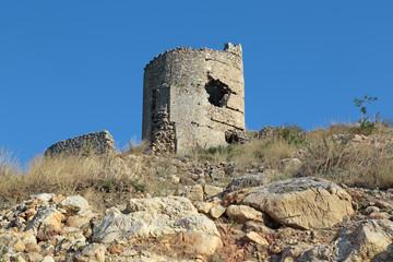 Cembalo fortress, Balaklava, republic Crimea