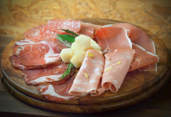 Mix italian antipasto