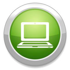 Laptop icon. Notebook pc symbol