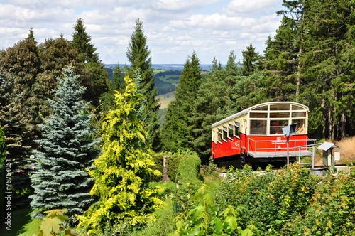 Leinwanddruck Bild Oberweißbacher Bergbahn