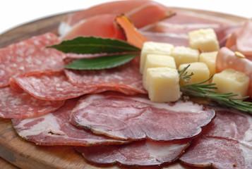 mix  italian antipasto