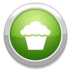 Muffin sign icon. Cupcake symbol