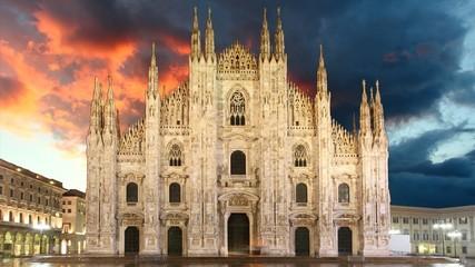 Milan - Duomo, Time lapse