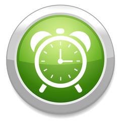 Clock sign icon.