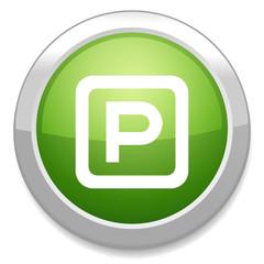 parking sign. Car parking symbol.
