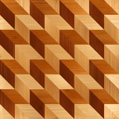 Abstract paneling pattern -  wood texture