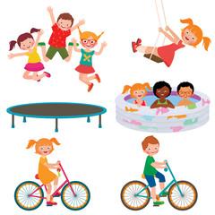 Summer children activities