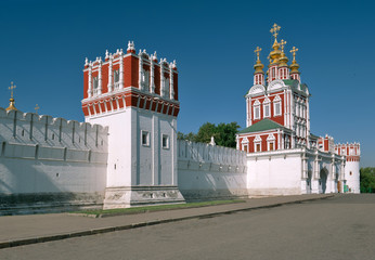 Convent Novodevichy in Moscow